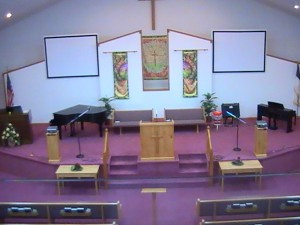 Our Church Auditorium